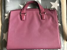 Tumi Laptop Bag With Leather Trim