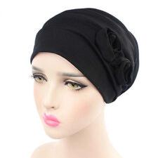 Women Muslim Stretch Turban Hat Cancer Chemo Beanie Baggy Cap Turban Hijab A439
