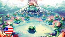 "Pokemon Bulbasaur Grass Venusaur 42"" x 24"" Large Wall Poster Print Anime NEW #23"