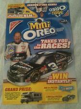Dale Earnhardt Nabisco Store Display Poster - Oreo #3 Monte Carlo