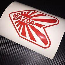 RED Mazda Wakaba JDM Car Sticker Decal JAP Drift Import Tuner Stance Wankel