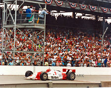 Rick Mears 1991 Indianapolis Indy 500 Finish Line Winner 8x10 Photo