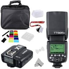 Godox TT685C 2.4G Sans Fil E-TTLII Flash+X1C-TX Transmetteur pour Canon