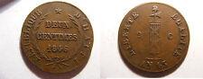 Haiti 1846 2 Centimes (deux), L'An 43, Nice