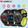 Lemfo L8 Reloj inteligente deportivo ECG Oxígeno en la sangre IP68 Impermeable