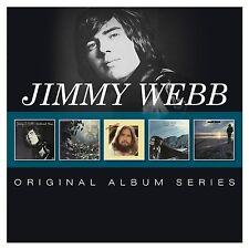 Jimmy Webb-ORIGINAL ALBUM SERIES 5 CD NUOVO