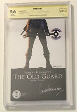 OLD GUARD #1 CBCS 9.6 SS (1st print) Signed By Leandro Fernandez (Not CGC)