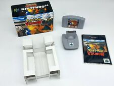 Nintendo 64 Pokemon Stadium Complete + Transfer Pak & Inlay N64