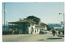 Old Custom House Montorey California Street Cars Real Photo Postcard 1950s 1960s