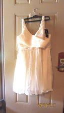 J Crew  Heidi in Silk Champagne Formal Cocktail Prom Dress Size 20 Chiffon 2017