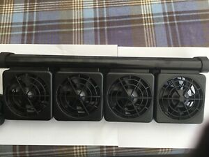 aquarium cooler 4 large fans high and low speed settings including thermostat
