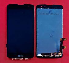 LCD SCHERMO DISPLAY E TOUCH SCREEN LG K7 X210 (LG M1) NERO BLACK SENZA FRAME