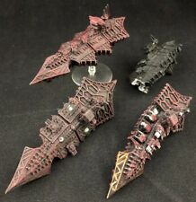 Chaos Cruisers x3.5 - Battlefleet Gothic - OOP - Games Workshop