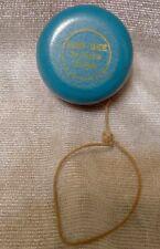 """Vintage  Wooden Dan-Dee Potato Chips Blue & Red YoYo  2 1/4"""""""