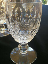 Waterford Crystal 'Colleen' Claret glasses, short stem.  Excellent condition