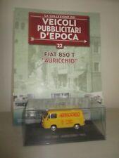 FIAT 850T -AURICCHIO- 1972 CON FASCICOLO  SCALA 1:43