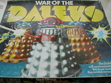 WAR OF THE DALEKS GAME - DENYS FISHER - 1975  - WAR OF THE DALEKS - GREAT GAME