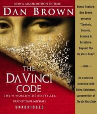 The Da Vinci Code Dan Brown 2006 Audiobook CD NEW Unabridged