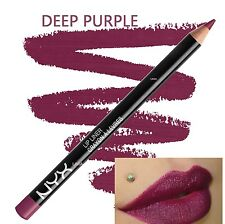 NYX Cosmetics Slim Lip Pencil 1g for Her 25 Shades Deep Purple