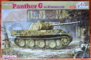 Dragon (6384) Sd.Kfz.171 Panther G w/Zimmerit in 1:35 Scale
