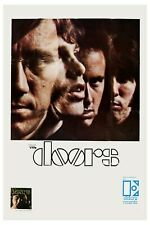 Rock: Jim Morrison & The Doors Promotional Group Photo Poster  1967  13x19