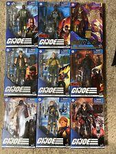 G.I. Joe Classified Figures Lot! All New Unopened!