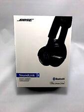 BOSE SoundLink Bluetooth Wireless On-Ear Headphones Headset w/Mic NEW Sound Link