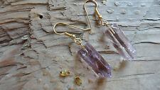 "or 12 pieces) 1"" long gold Xxxxx Amethyst Earring set or pendant set (6 pair,"