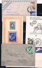 Argentina. Conjunto de 7 piezas de Historia Postal