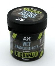 AK Interactive AK8034 Wet Crackle Effects Diorama Series (100 ml) Cracked Mud