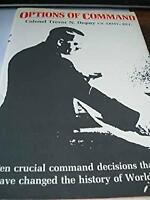 Options of Command by Dupuy, Trevor Nevitt