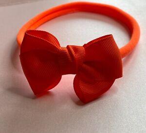 Orange Halloween Baby Headbands Newborn toddlers girls adult  Hair bands,