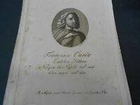 1814 ACQUAFORTE FRANCESCO CURIA PITTORE NATO A NAPOLI INCISORE BIONDI