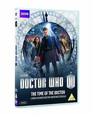 Doctor Who The Time of the Doctor & Other Eleventh Christmas Specials [DVD] NEU