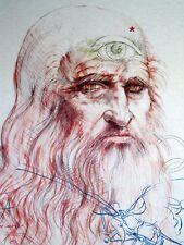 """Ramon Santiago """"Da Vinci"""" Fine Art Print, Rochester NY"""