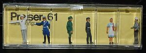 Preiser, Vintage, New,  Item# 61  HO scale  Policemen and red cross workers