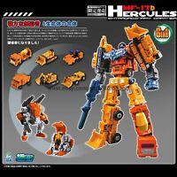Transformers MFT Mini Devastator 6in1 Orange MF17D Action Figure Collect Kid Toy