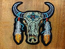 Buffalo Scout Iron On Embroidery Patch New