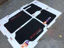 Fit For 1988-91 CRX Dohc vtec EC ED EF SI Floor Mats Carpet Black set of4