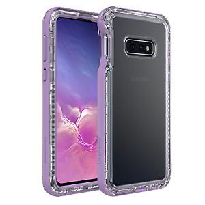 Lifeproof NEXT - Samsung Galaxy S10e Slim Durable Case - Ultra Clear/Purple