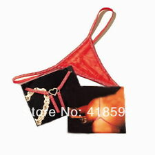 Red,net G-string/thong,silver rhinestone diamanté heart at the back,Valentine.