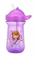 The First Years Disney Junior Sofia the First Flip Top Straw Cup