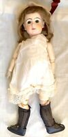 """Antique French Bisque and Wood Doll Depose Tete Jumeau Bte. S.G.D.G. 10  22"""""""