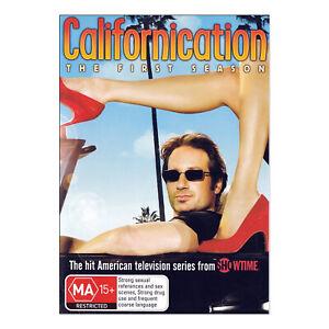 Californication: Season 1 DVD (2 Disc Set) Brand New Region 4 - David Duchovny