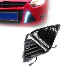 Fit Ford Focus 11-14 White LED DRL Daytime Running Light Fog Lamp 12V