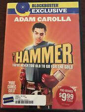 THE HAMMER Blockbuster Exclusive DVD Adam Carolla 2007 Pure Gold COMEDY Very Goo