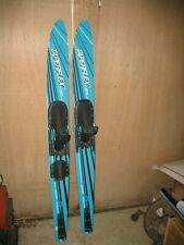 """New listing TAPER FLEX PURITAN WATERSKIS ORION RM50 COTTAGE CABIN PROP DECOR BLUE TEAL 67"""""""