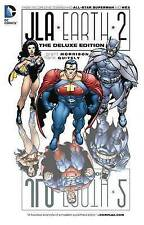 JLA: Earth 2 Deluxe Edition HC by Grant Morrison (Hardback, 2013)