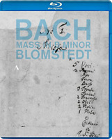 HERBERT BLOMSTEDT...-BACH : MASS IN B MINOR...-IMPORT BLU-RAY WITH JAPAN OBI L50