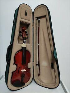 "Antoni small violin  1/4 18"" in hard case"